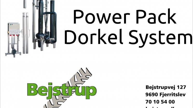 Gyllebehandling med Power Pack System