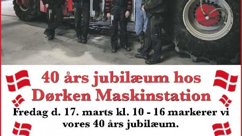 40 års jubilæum hos Dørken Maskinstation