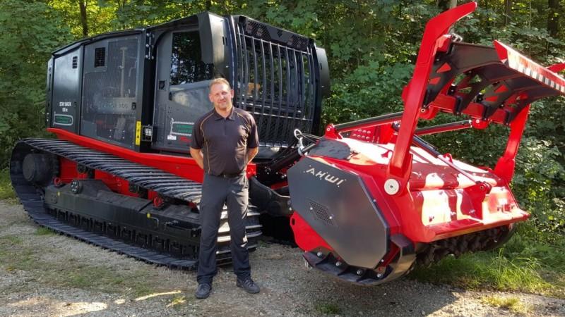 Brdr Willemoes Skovservices indkøb af bælteknuseren Raptor 300