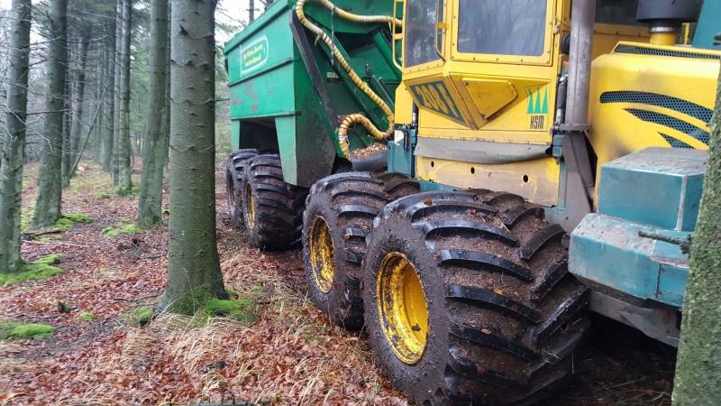 Video af Brdr Willemoes' flishuggerteam hvor frakøreren nu har 940 mm brede dæk