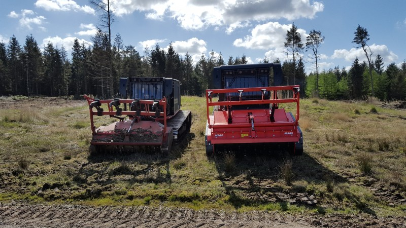 Brdr. Willemoes Skovservice har købt Danmarks kraftigste bælteknuser Raptor 800