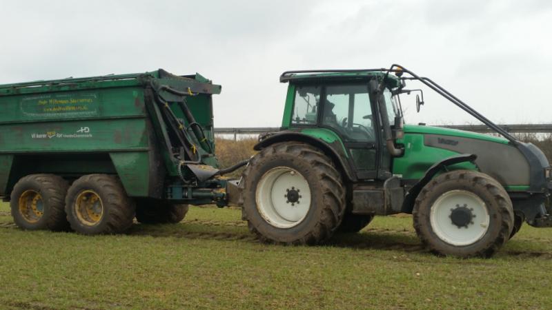Valtra skovmaskine og flisfrakører Valtra T190