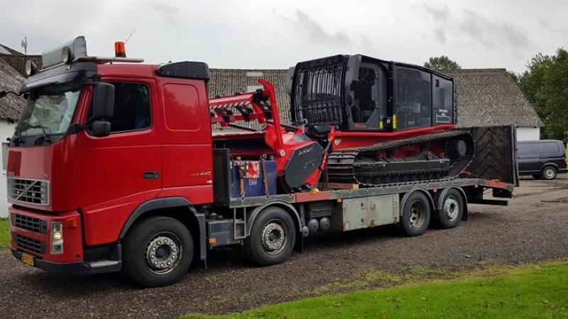 Volvo, Maskintransport FH 440, 8x2